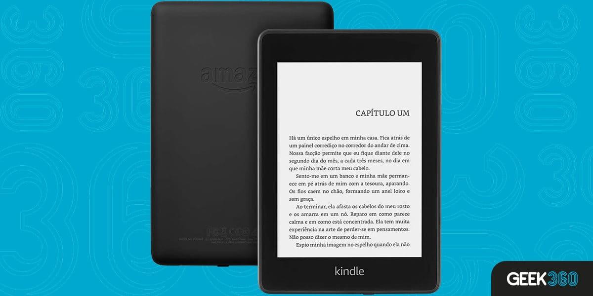 Kindle Paperwhite Agora à prova d´água