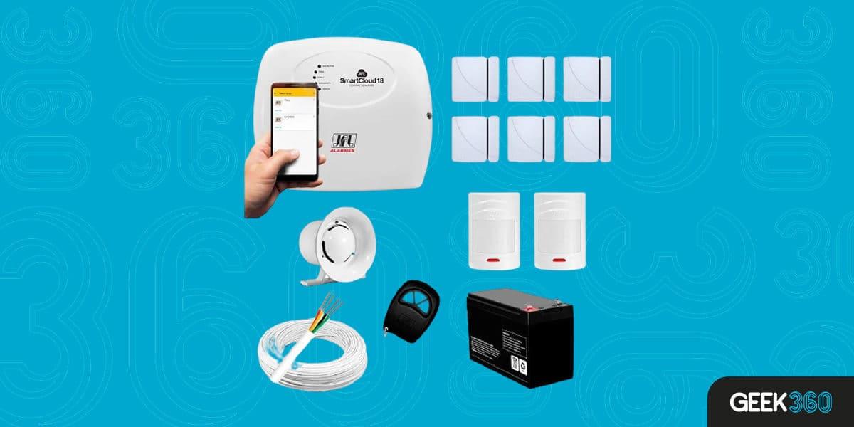 Kit Alarme JFL 15 sensores