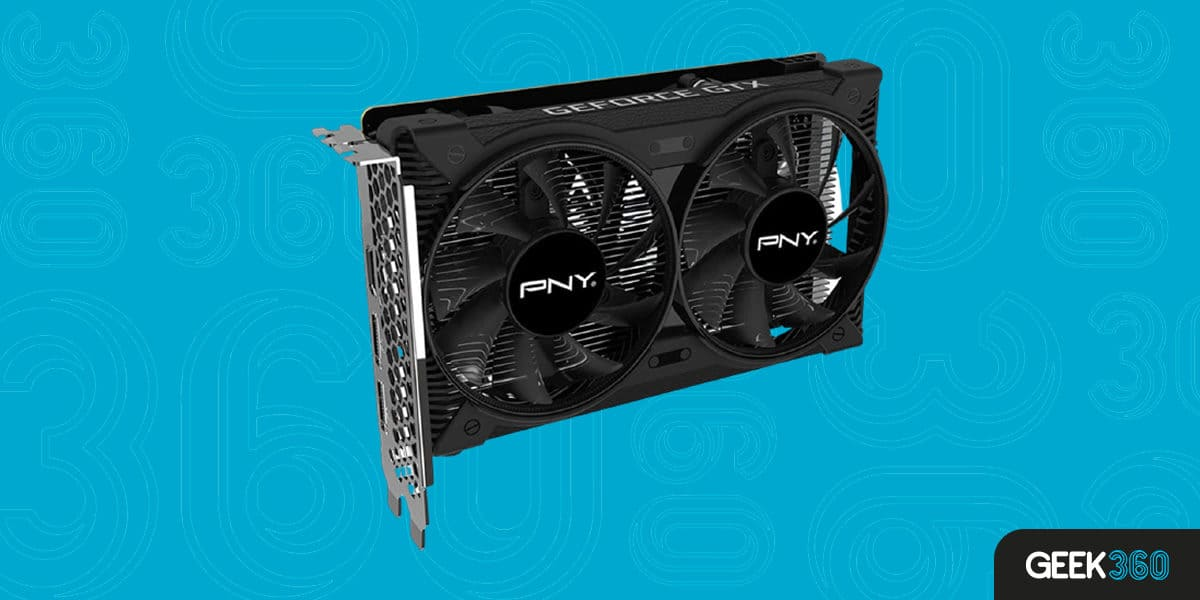PNY Geforce GTX 1650 VCG16504D6DFPPB